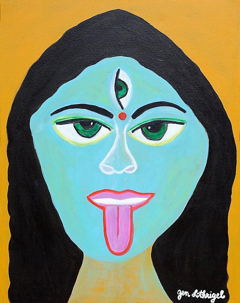 Goddess KALI by Jennifer Lothrigel