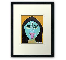 Goddess KALI Framed Print