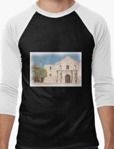 The Alamo Facade Men's Baseball ¾ T-Shirt