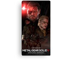 SNAKE GROUND ZEROES Canvas Print