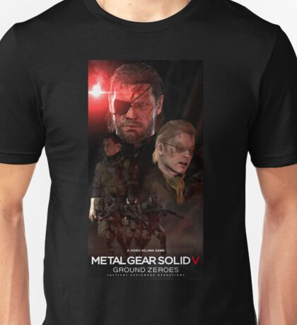 SNAKE GROUND ZEROES Unisex T-Shirt