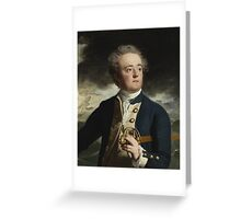 John Singleton Copley American, worked in America and England  Captain John Loring Greeting Card