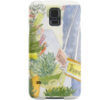 Herbs and Greens Tent Samsung Galaxy Case/Skin