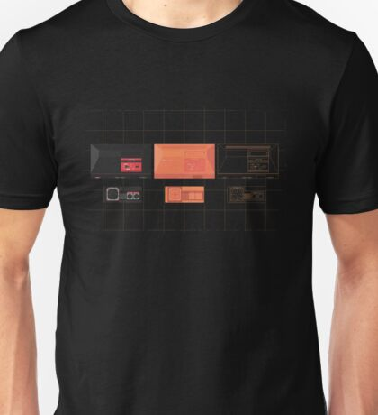 Master System mix (black) Unisex T-Shirt