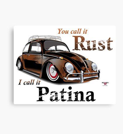 It's Patina Canvas Print