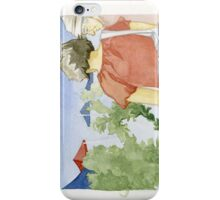Picking Plants iPhone Case/Skin