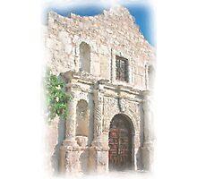 Alamo Facade Photographic Print
