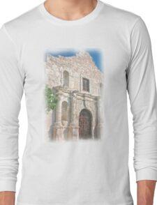 Alamo Facade Long Sleeve T-Shirt