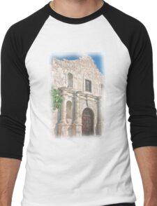 Alamo Facade Men's Baseball ¾ T-Shirt