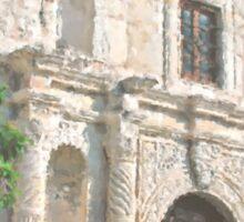 Alamo Facade Sticker