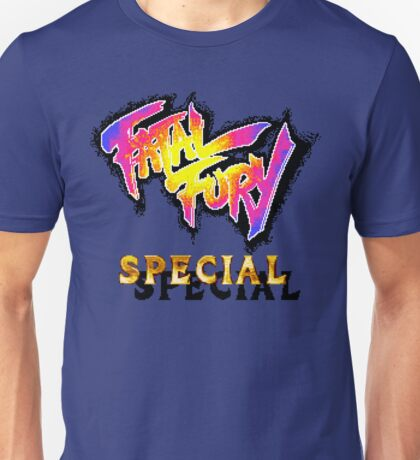 Fatal Fury Special (SNES Title Screen) Unisex T-Shirt