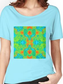 Hibiscus Impressionist Women's Relaxed Fit T-Shirt