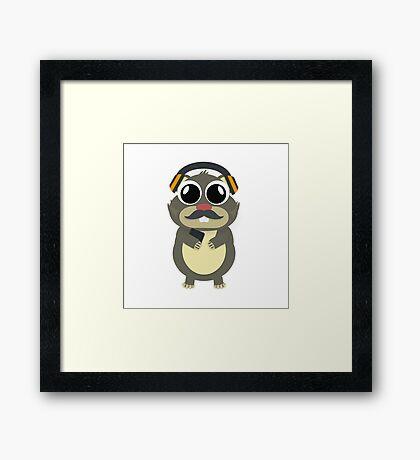 Hamster Regi Framed Print