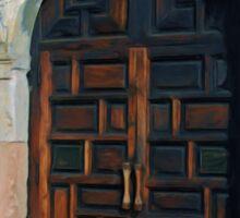 Alamo Door Sticker