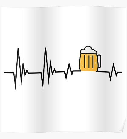 beer in my Heart Poster