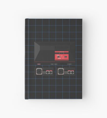 Master System Single (black) Hardcover Journal