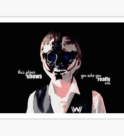 "Westworld #1 ""really world"" Sticker"