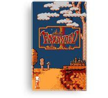 Faxanadu (NES) Canvas Print
