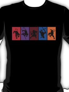 They're the worlds most fearsome fighting team! T-Shirt