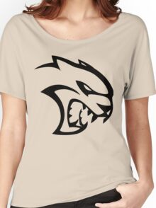 DODGE SRT HELLCAT LOGO Women's Relaxed Fit T-Shirt