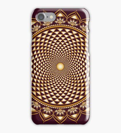 Crown Chakra, Sahasrara , Yoga, Buddhism, Lotus Flower iPhone Case/Skin