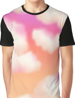 Pastel Sunset Graphic T-Shirt