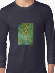 Yellow Tree Blossoms Long Sleeve T-Shirt