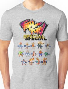 Fatal Fury Special (Neo Geo Character Lineup) Unisex T-Shirt