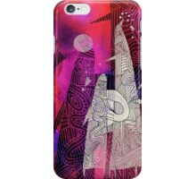Martian abstract iPhone Case/Skin
