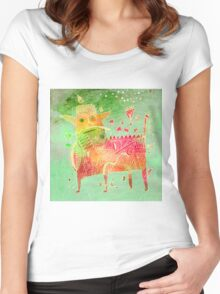 creature S Women's Fitted Scoop T-Shirt