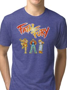 Fatal Fury (Neo Geo) Tri-blend T-Shirt