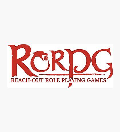 RED Logo RORPG Photographic Print