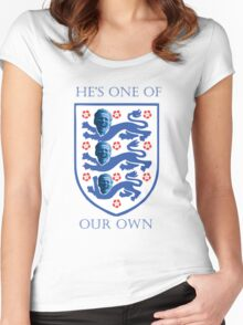 St Harry of England - He's one of our own Women's Fitted Scoop T-Shirt