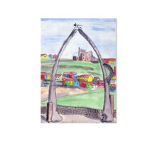 Whitby Through the Whale Bones Art Board