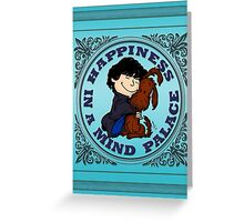 Happiness in a Mind Palace Greeting Card