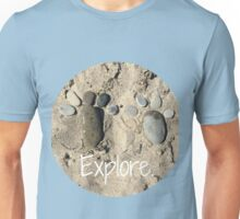 Rock foot Print Unisex T-Shirt