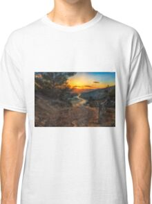 The path to the sunset  Classic T-Shirt