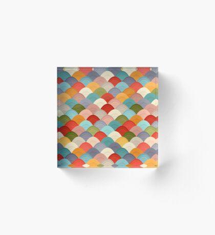 yarn hill dollops summer Acrylic Block