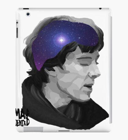 Sherlock- universal minds (White) iPad Case/Skin
