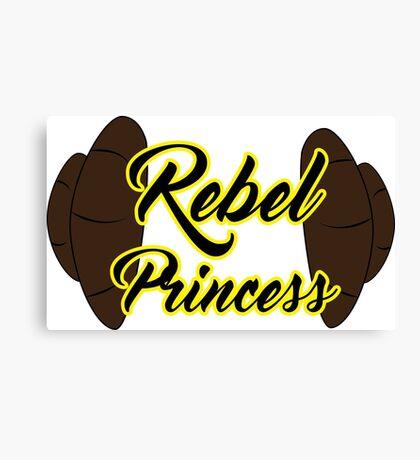Rebel Princess Canvas Print