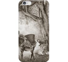 The Goat Herder iPhone Case/Skin