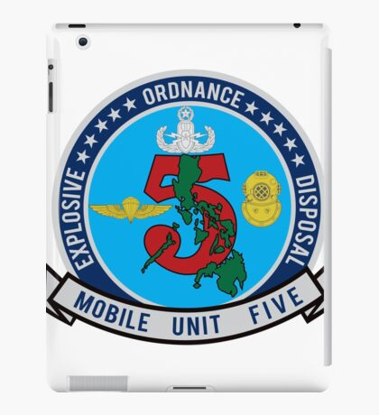 EOD Mobile Unit 5 iPad Case/Skin
