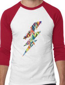 graphic lighting Men's Baseball ¾ T-Shirt