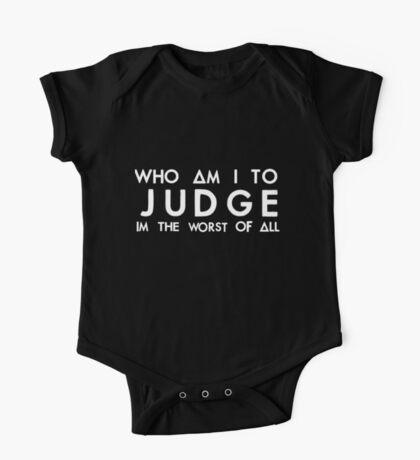 judge (white) One Piece - Short Sleeve