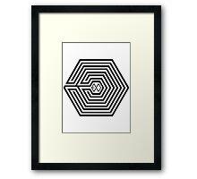 Exo OVERDOSE M Framed Print