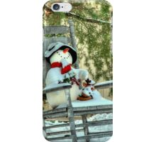 Christmas Country Snowman iPhone Case/Skin
