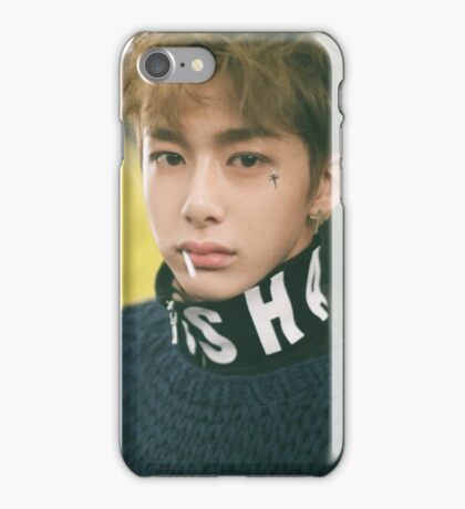 hyungwon monstax guilty iPhone Case/Skin