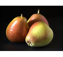 Reach for a Pear Photographic Print