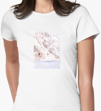 Winter Swan Womens Fitted T-Shirt