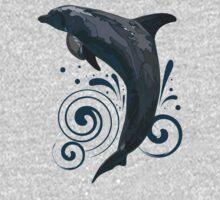 Dolphin One Piece - Short Sleeve